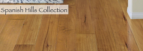 Carlton Solid Hardwood -cmo Flooring - Spanish Hills Collection