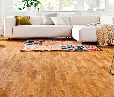 Longstrip wood flooring